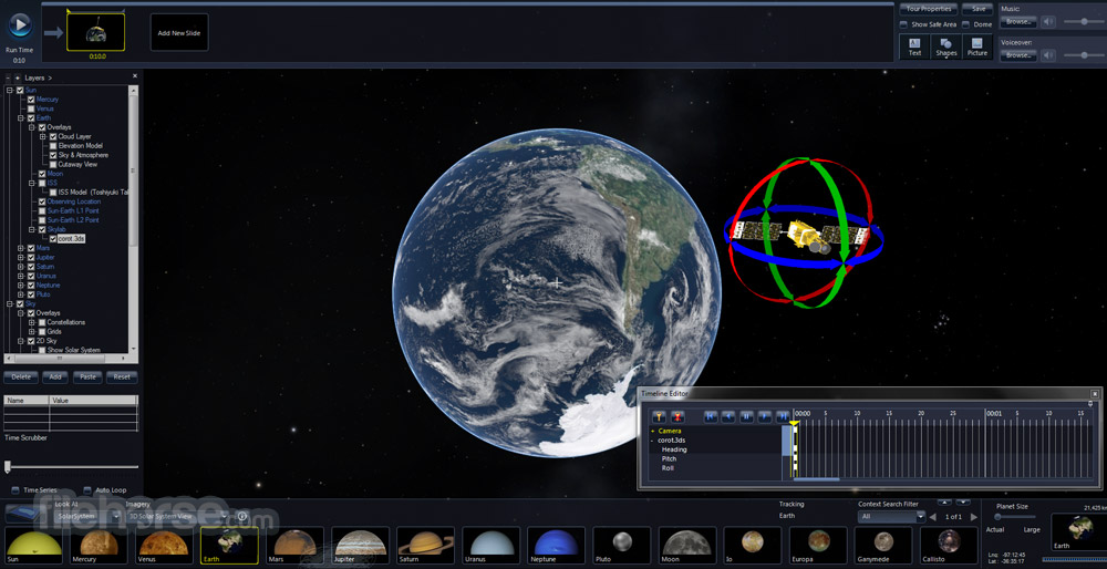 Microsoft WorldWide Telescope Screenshot 1