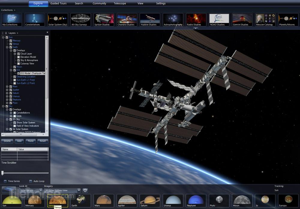 Microsoft WorldWide Telescope Screenshot 2
