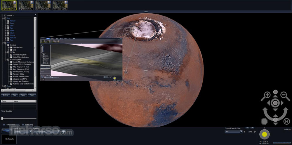 Microsoft WorldWide Telescope Screenshot 3