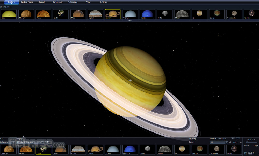 Microsoft WorldWide Telescope Screenshot 5