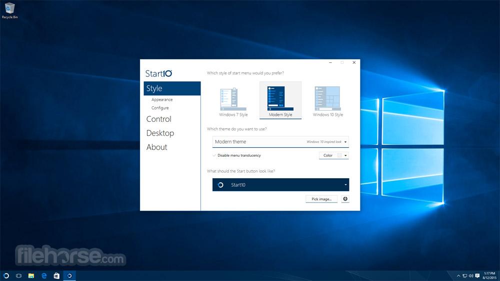 Start10 Screenshot 4