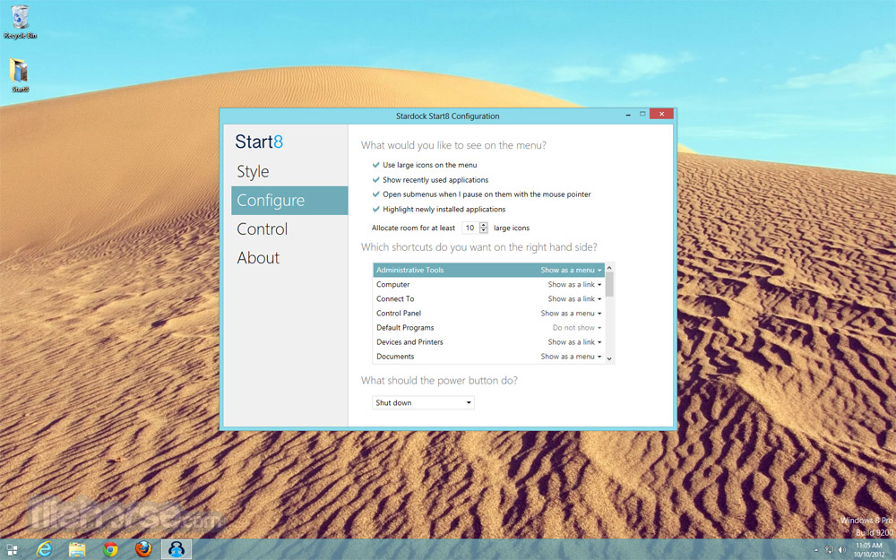 Start8 Screenshot 5