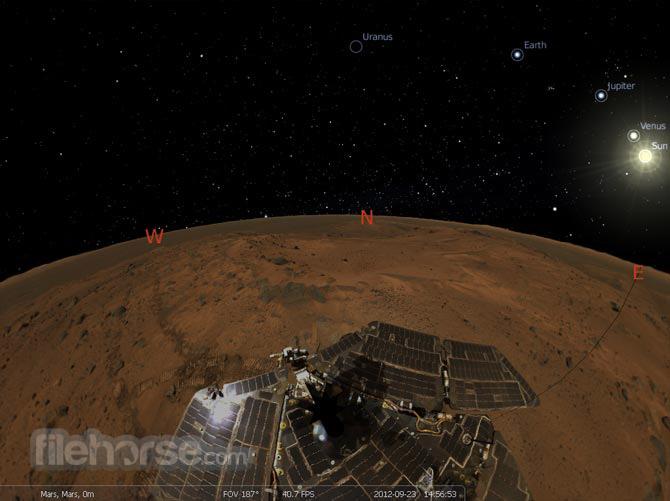 Stellarium (32-bit) Screenshot 2