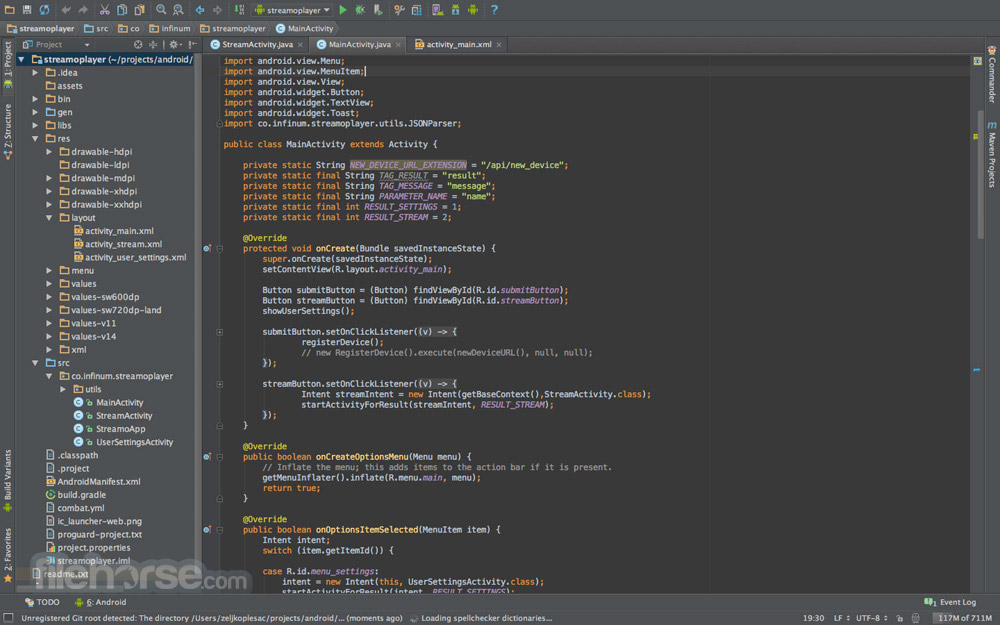 Android Studio Screenshot 1