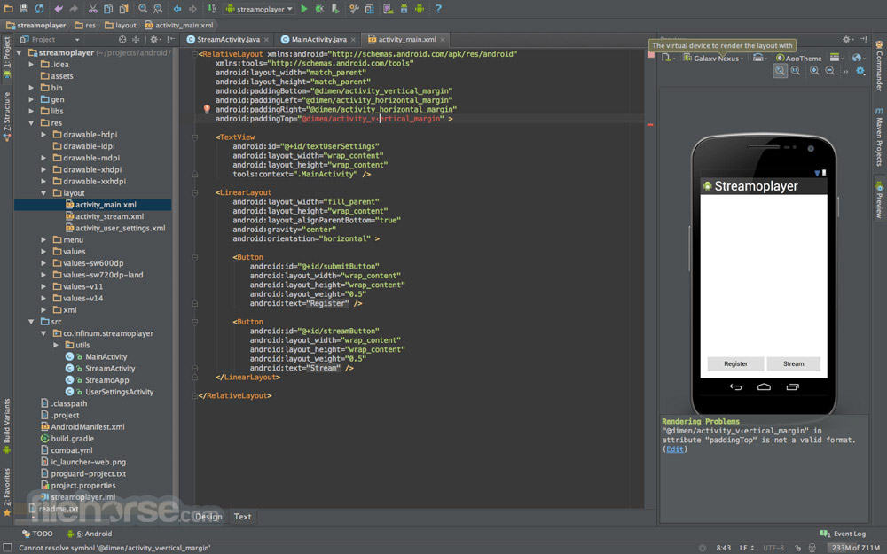 Android Studio Screenshot 2