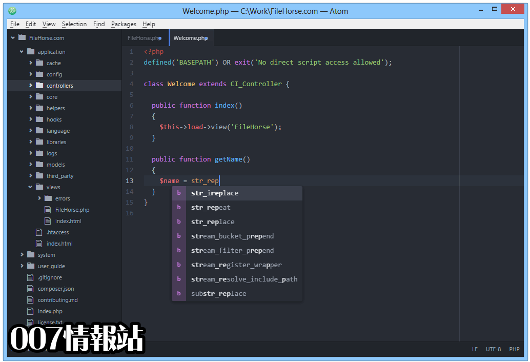 Atom (32-bit) Screenshot 3