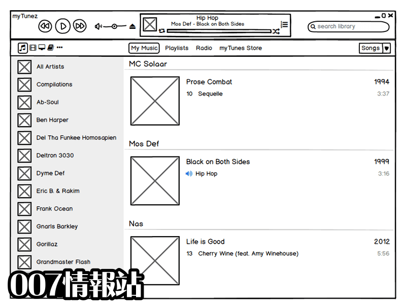Balsamiq Mockups Screenshot 1