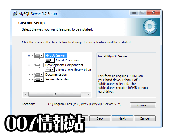 MySQL (64-bit) Screenshot 3