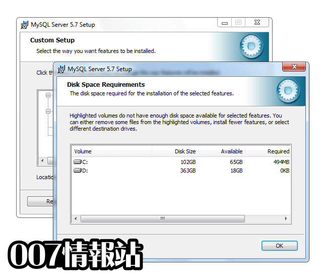 MySQL (64-bit) Screenshot 4
