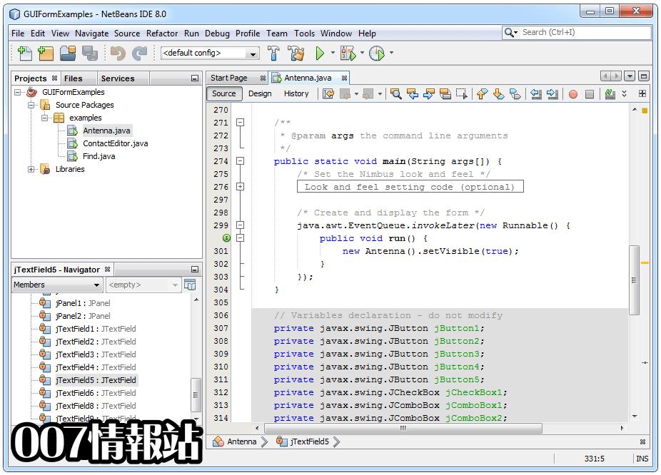NetBeans IDE Screenshot 4
