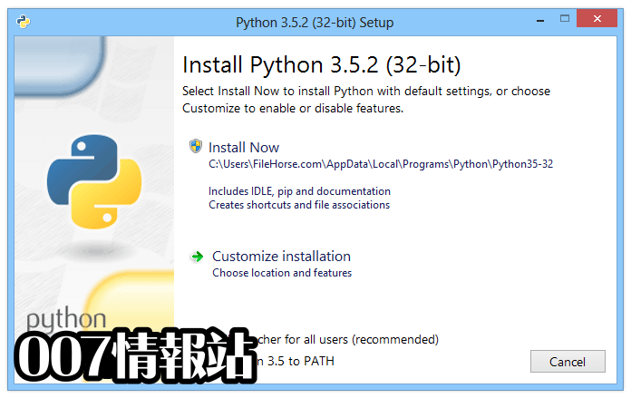 Python (64-bit) Screenshot 1