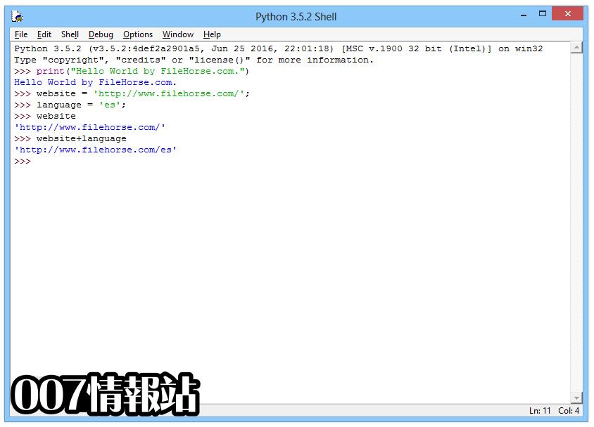 Python (64-bit) Screenshot 3