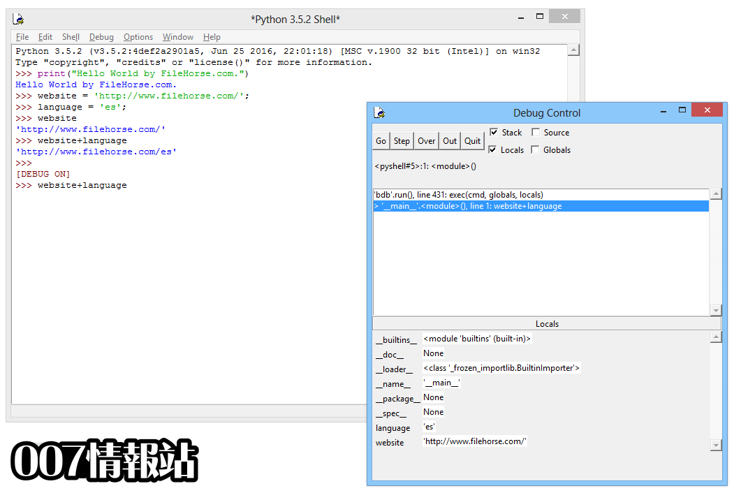 Python (64-bit) Screenshot 4