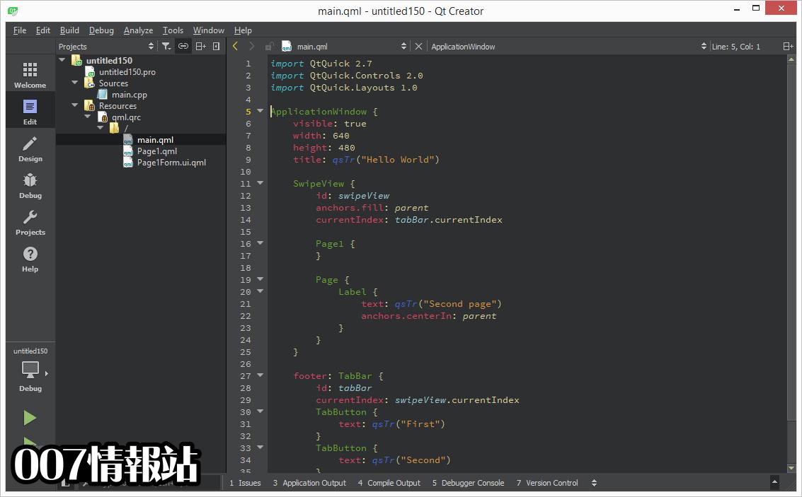 Qt (32-bit) Screenshot 2