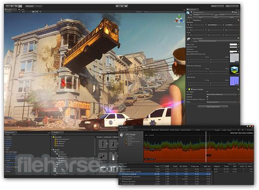 Unity Screenshot 1