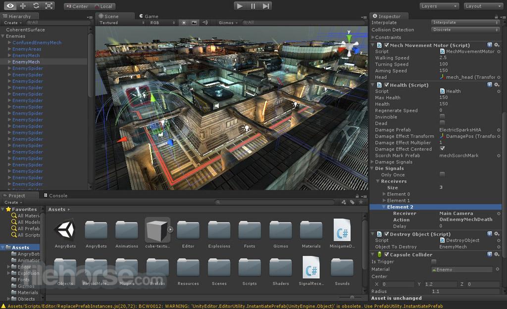Unity Screenshot 3