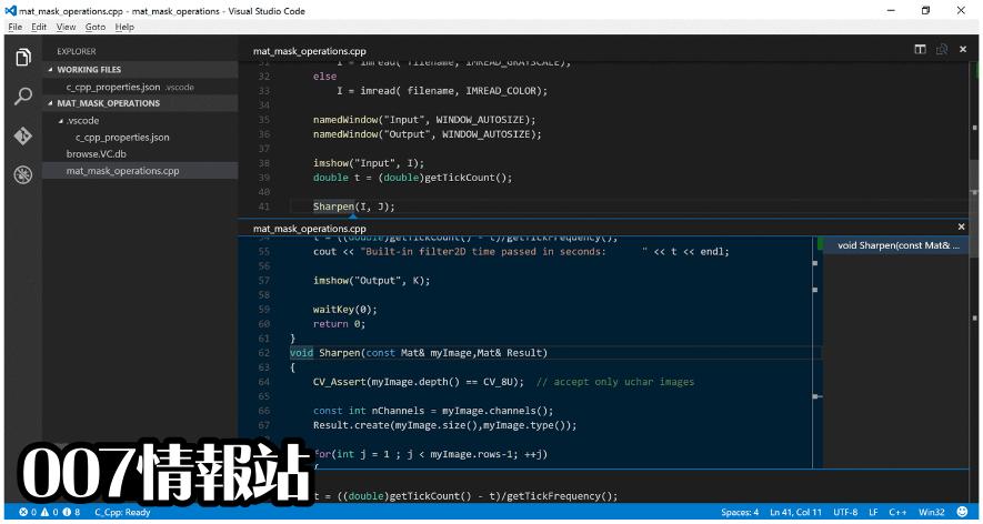 Visual Studio Code Screenshot 4