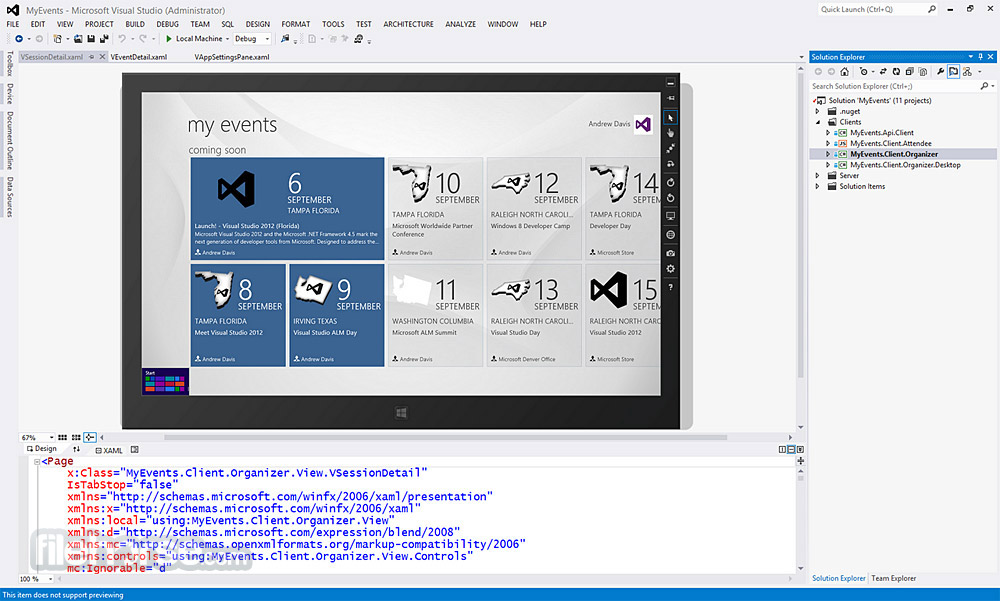 Visual Studio Express Screenshot 2