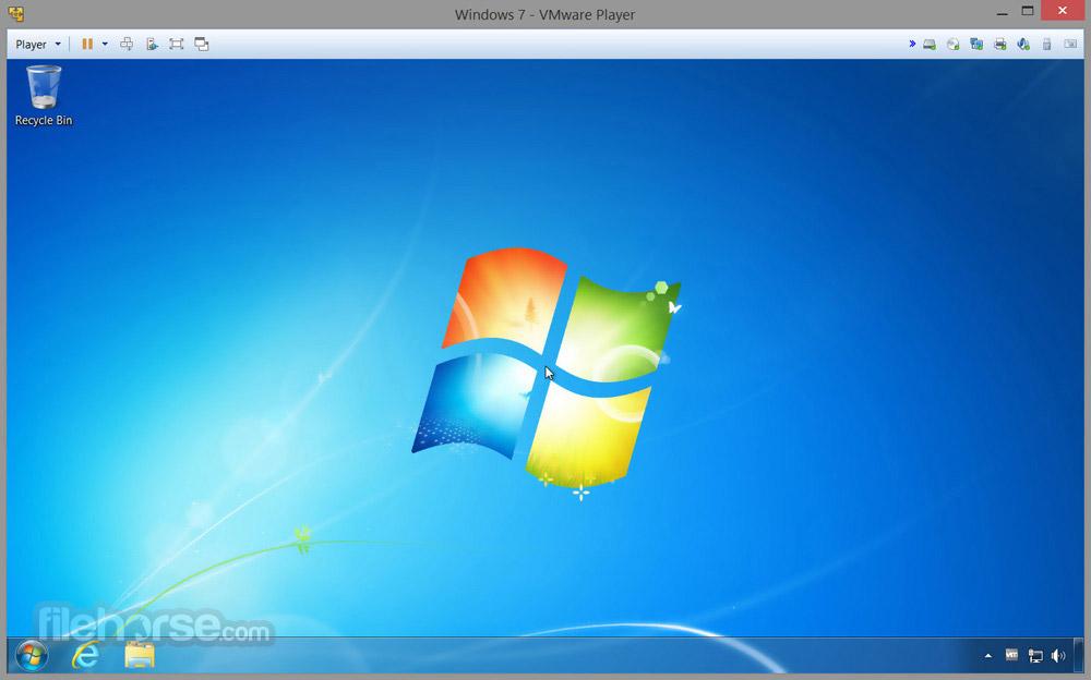 VMware Workstation Player Screenshot 2