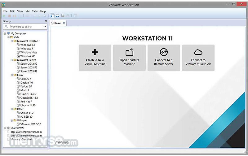 VMware Workstation Pro Screenshot 1