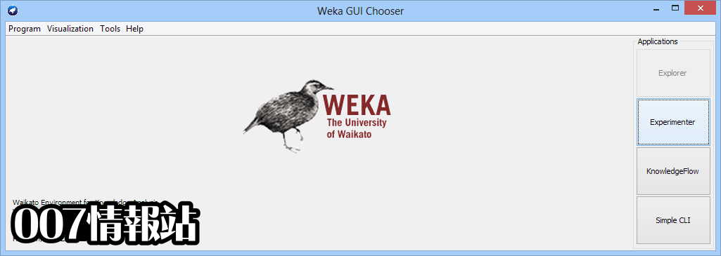 Weka (64-bit) Screenshot 1