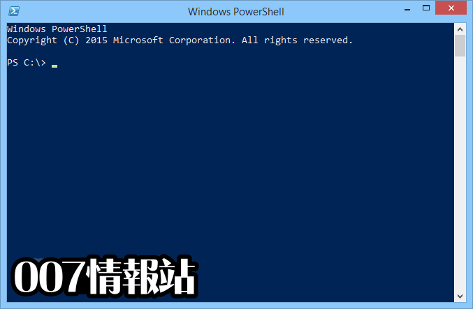 Windows PowerShell (64-bit) Screenshot 1