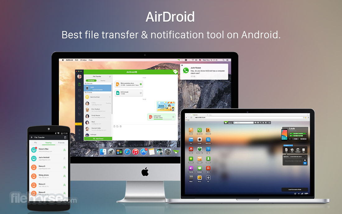 AirDroid Screenshot 1