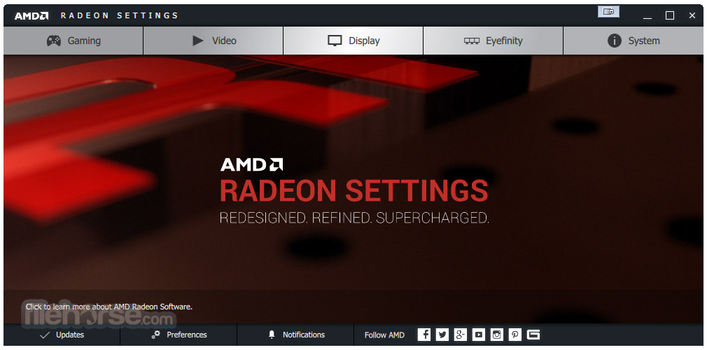 AMD Catalyst Drivers (XP 32-bit) Screenshot 1