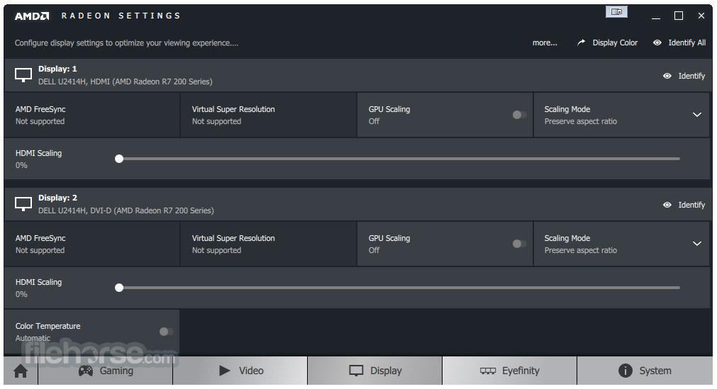 AMD Catalyst Drivers (XP 32-bit) Screenshot 3