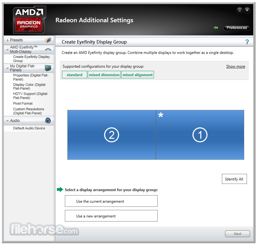 AMD Catalyst Drivers (Vista 32-bit) Screenshot 5