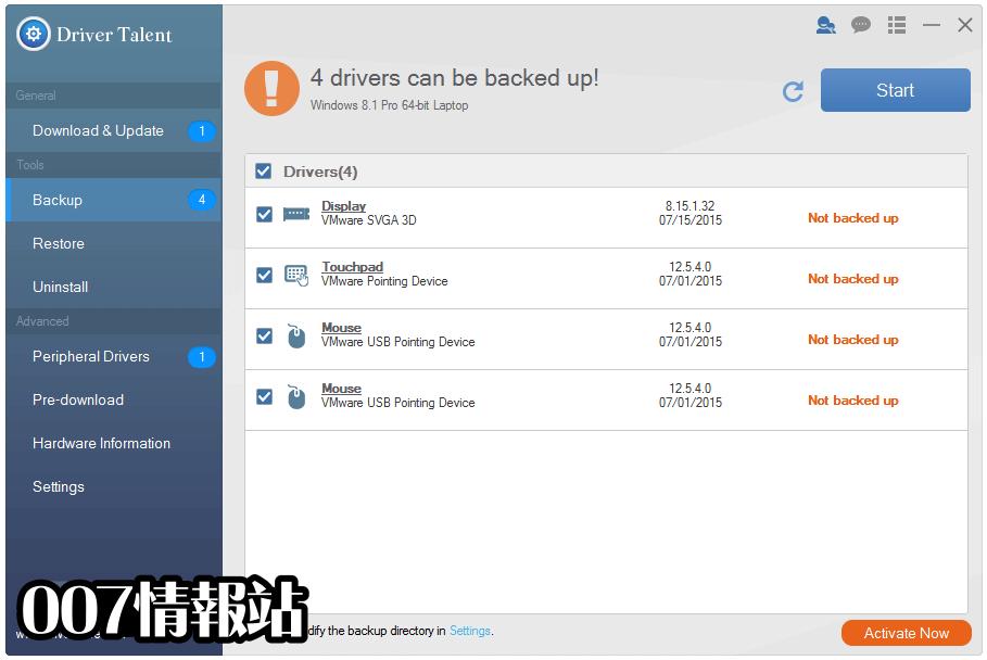 Driver Talent for Network Card Screenshot 2