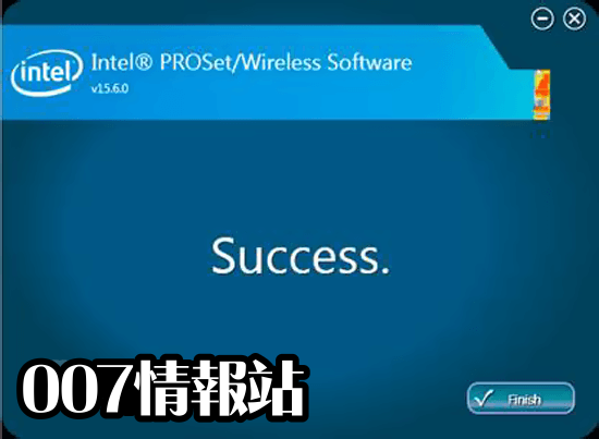 Intel PROSet/Wireless Software (64-bit) Screenshot 3