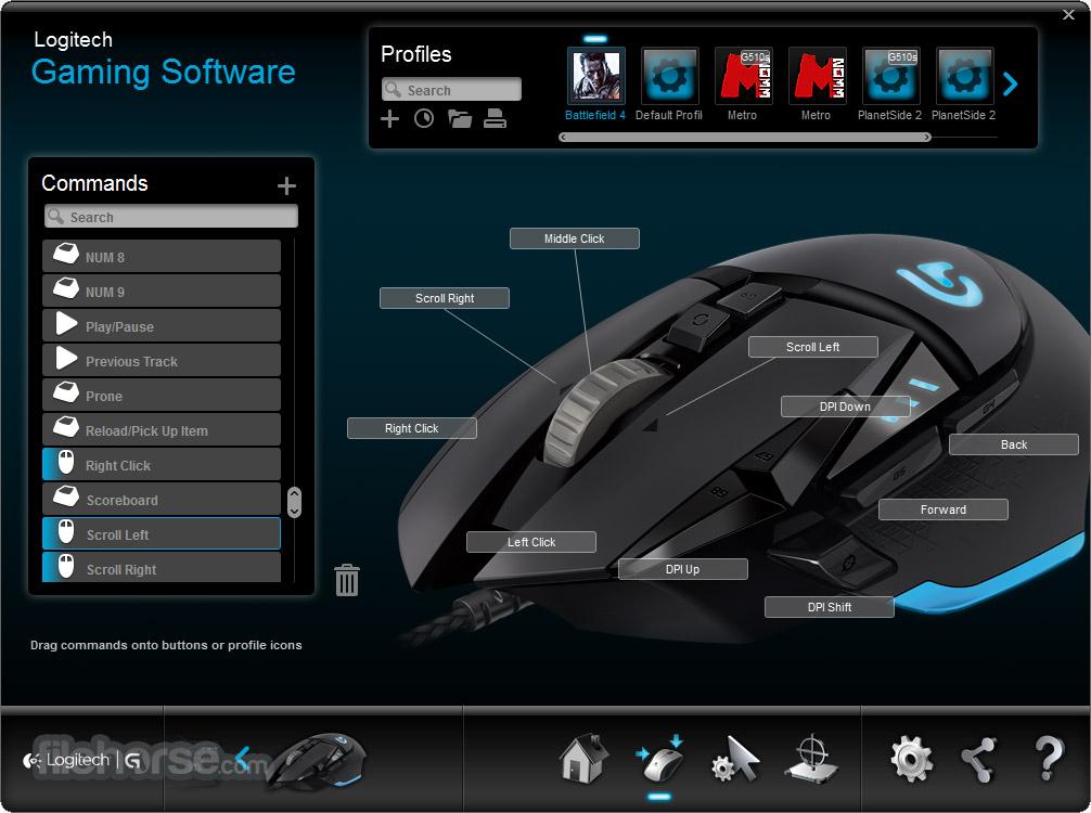 Logitech Gaming Software (64-bit) Screenshot 3