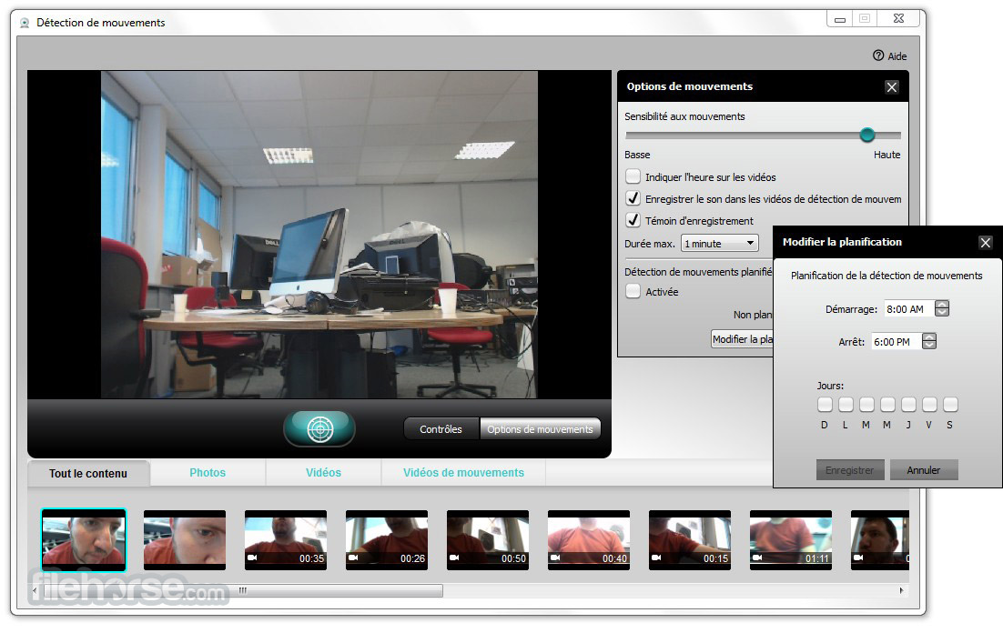 Logitech Webcam Software Screenshot 2