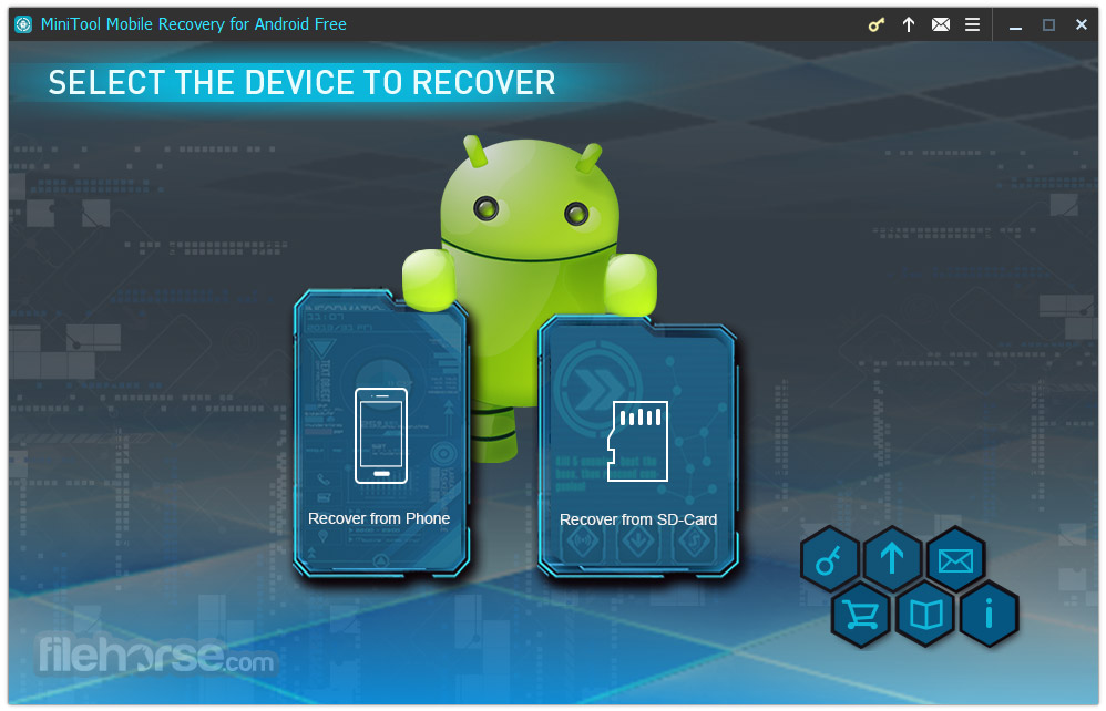 MiniTool Mobile Recovery for Android Free Screenshot 1