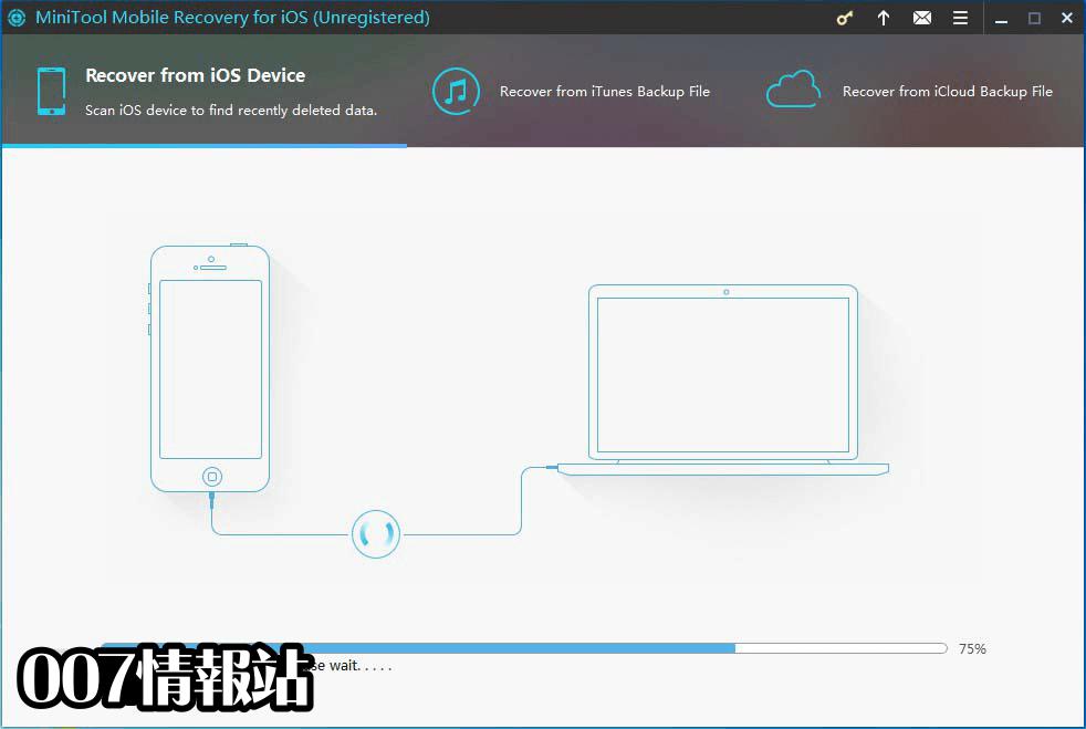 MiniTool Mobile Recovery for iOS Screenshot 1