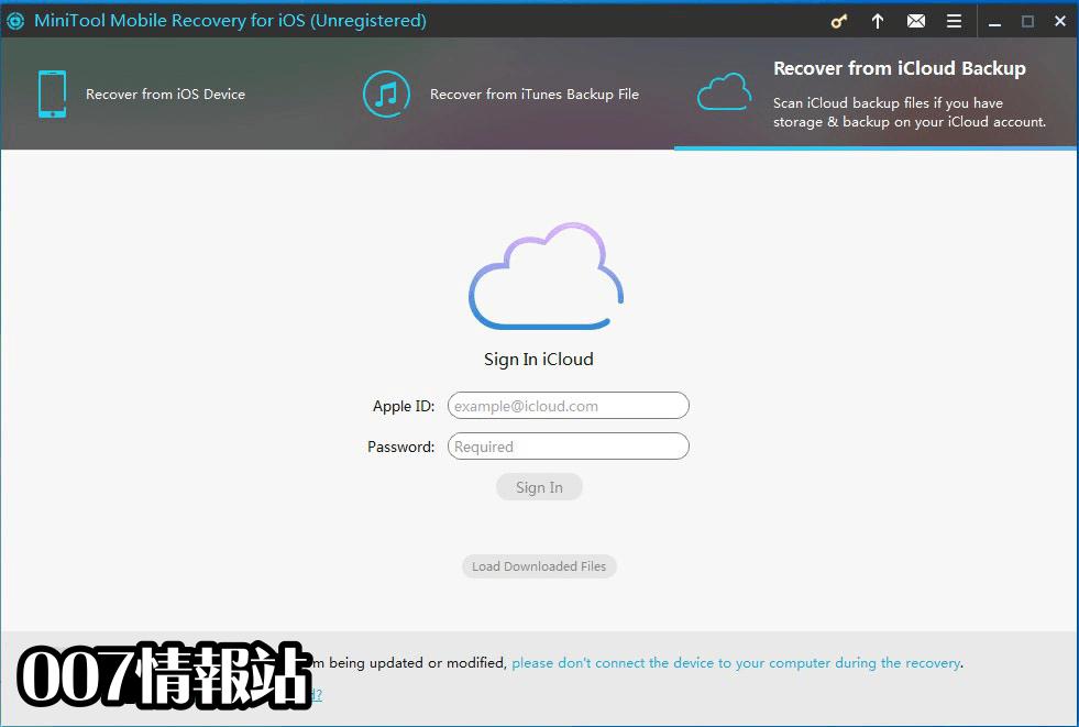 MiniTool Mobile Recovery for iOS Screenshot 3