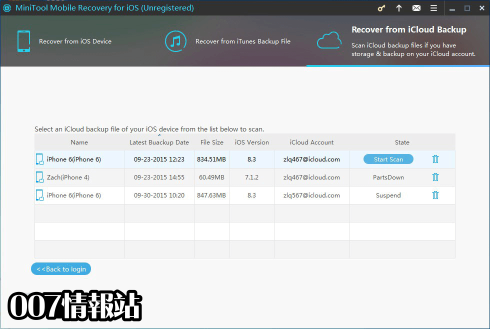 MiniTool Mobile Recovery for iOS Screenshot 4
