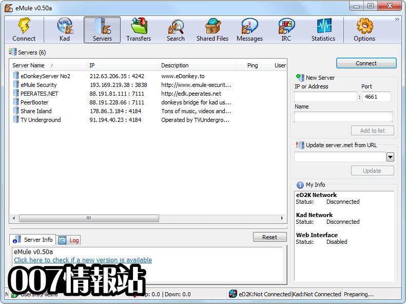 eMule Screenshot 1