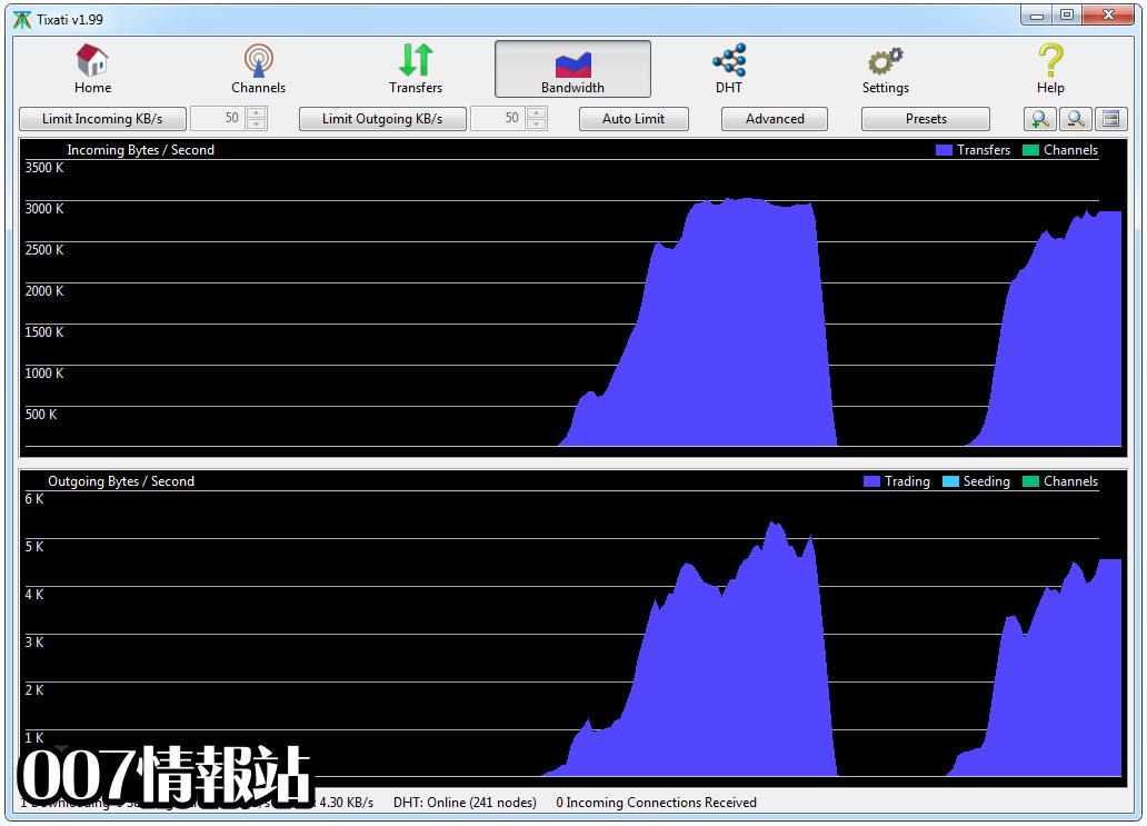 Tixati (32-bit) Screenshot 3
