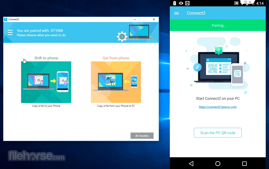 Connect2 (by Lenovo) Screenshot 2