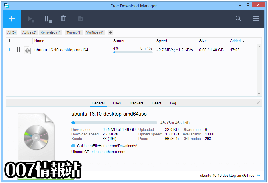 Free Download Manager (64-bit) Screenshot 4