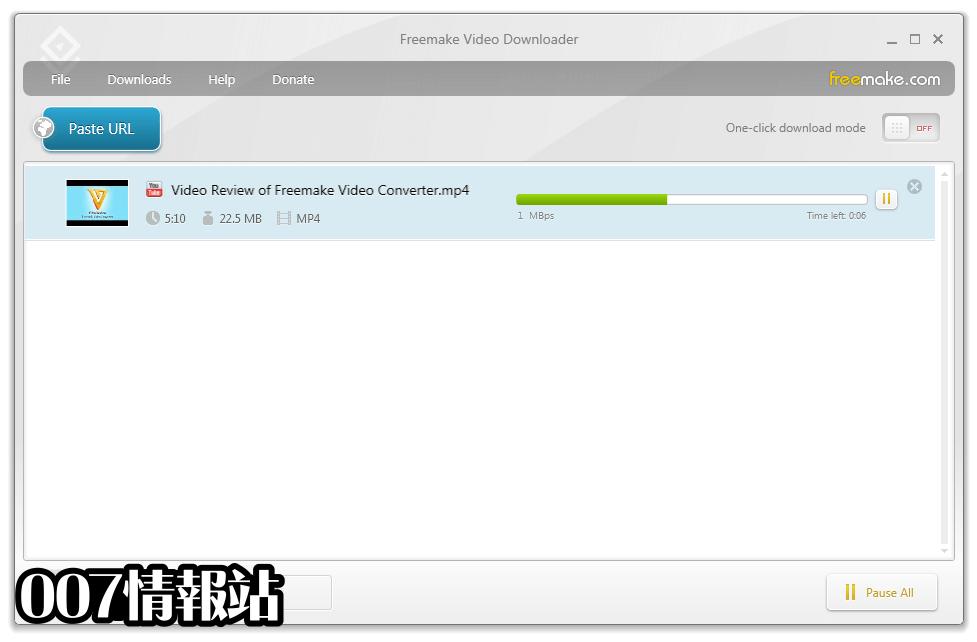 Freemake Video Downloader Screenshot 2