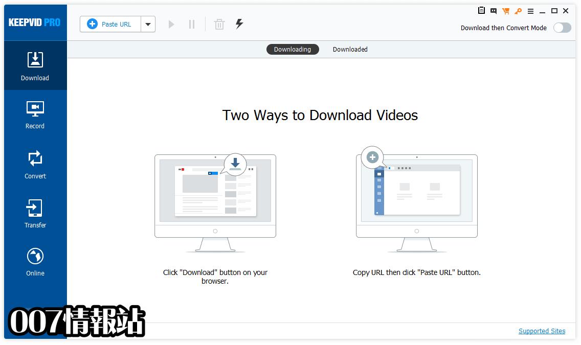KeepVid Pro Screenshot 1