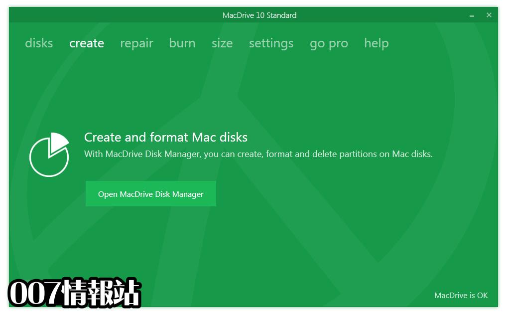 MacDrive Standard Screenshot 2