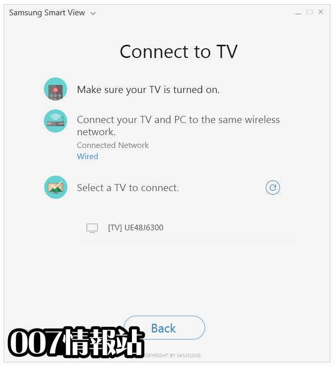 Samsung Smart View Screenshot 2
