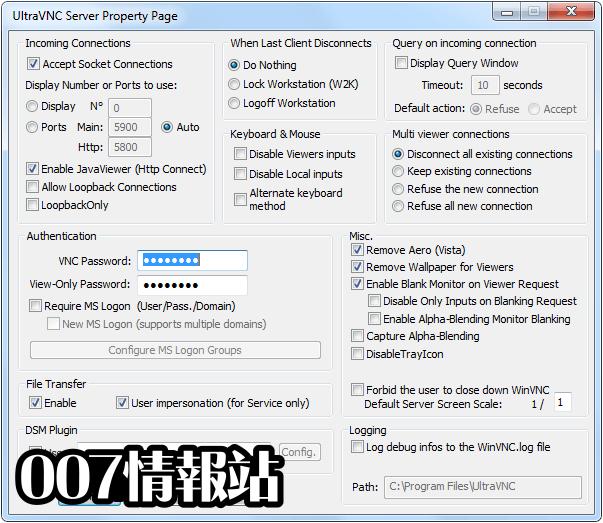 UltraVNC (32-bit) Screenshot 3