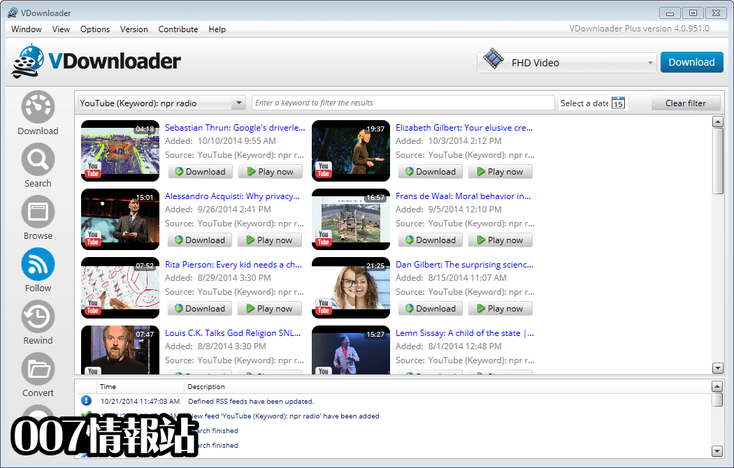 VDownloader Screenshot 2