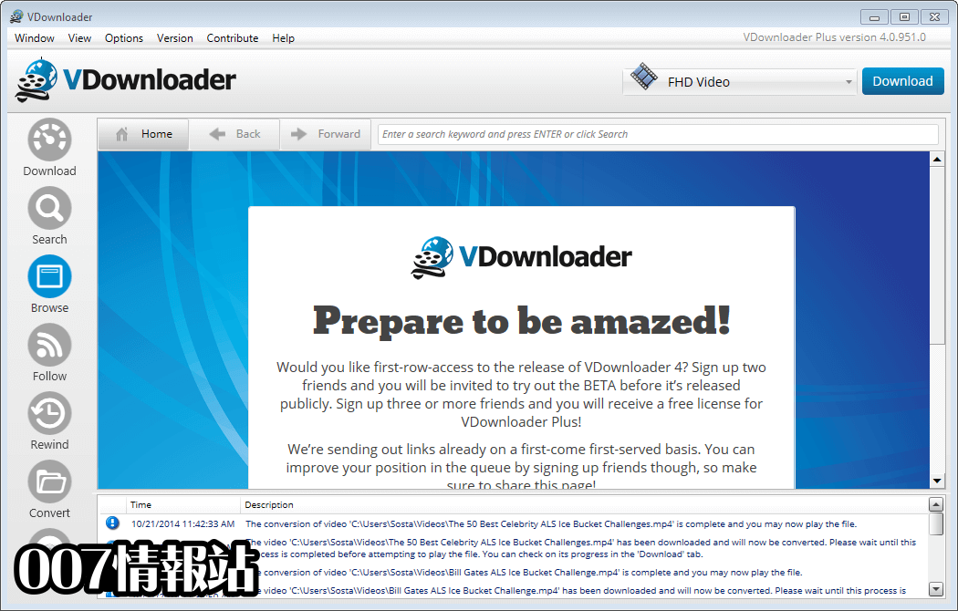 VDownloader Screenshot 3