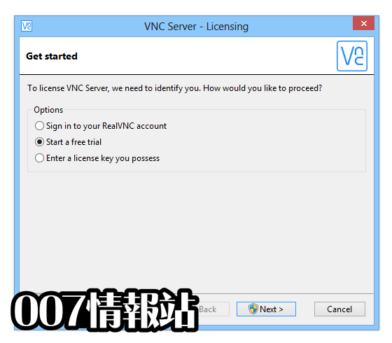 VNC Connect Screenshot 5